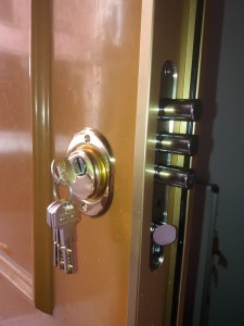 cambio de bombillo puerta eurosegur - Cerrajero de Madrid - www.cerrajero-de-madrid.es