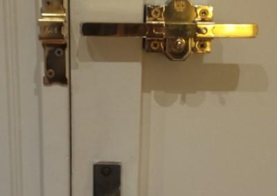 cerrojo especial para puertas fichet