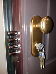 conversion puerta acorazada dierre