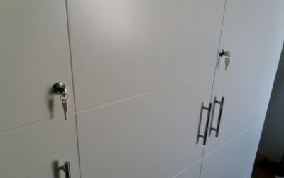 instalacion de cerraduras para armarios