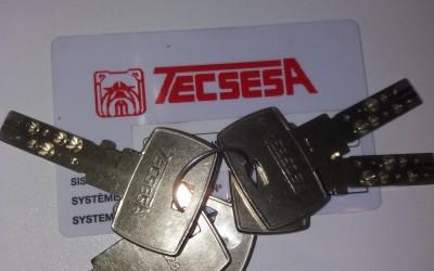 llaves tecsesa