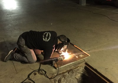 reparacion de arquetas de hierro