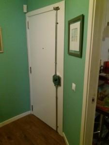 restauracion de puerta blindada