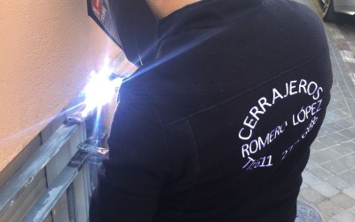 trabajos de soldadura - Cerrajero de Madrid - www.cerrajero-de-madrid.es