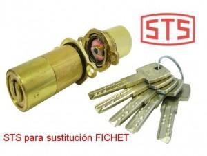 bombillo sts para cerradura fichet www.cerrajero-de-madrid.es