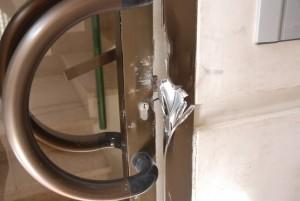 puerta forzada
